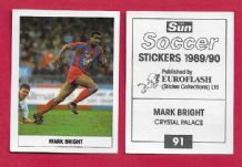 Crystal Palace Mark Bright 91